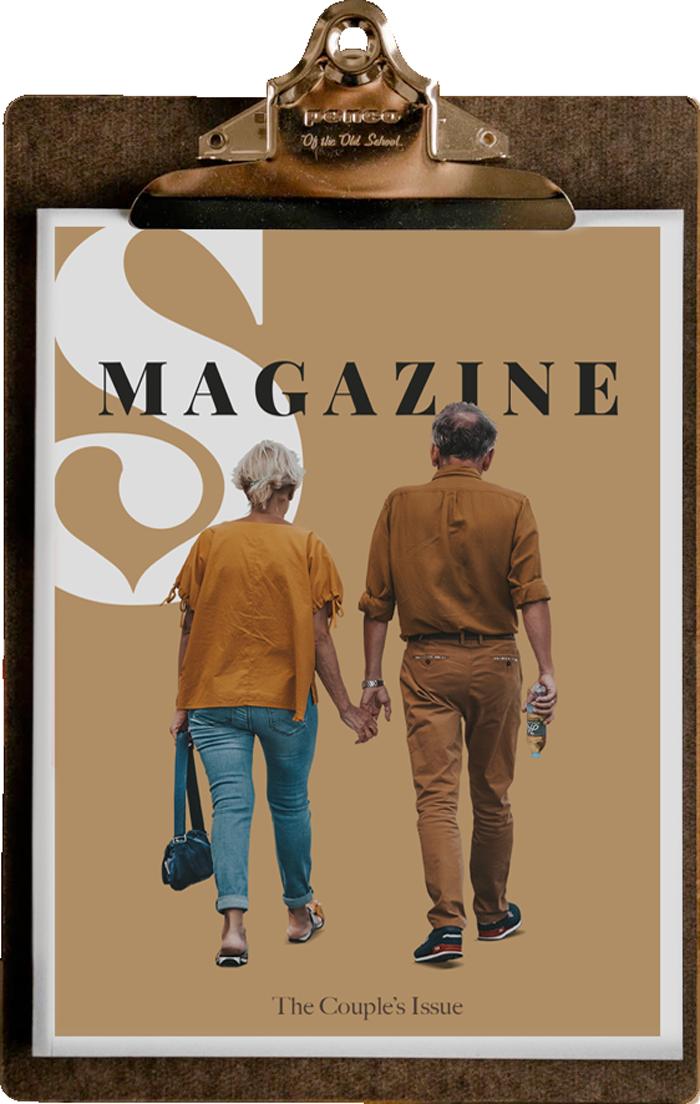Relationship Therapist Magazine Couple